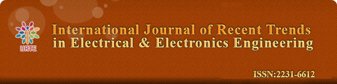 International Journal of Recent Trends in Electrical and Electronics Engineering ISSN 2231-6612